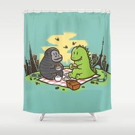 Let's have a break Shower Curtain