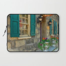A Victorian Tea Room Laptop Sleeve