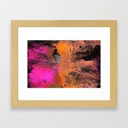 moshed Framed Art Print