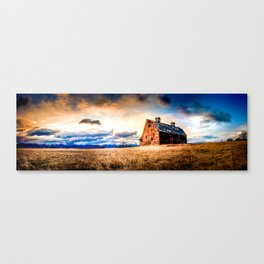 Blasdel Barn at Sunrise Canvas Print