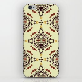 pattern with Tribal mask ethnic iPhone Skin