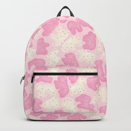 Frosted Animal Cookies on Pink Backpack