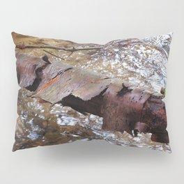 Log By Stream Pillow Sham