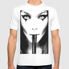 Ivy Mens Fitted Tee MEDIUM White