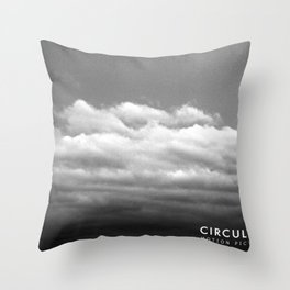 Circulate - Clouds Throw Pillow
