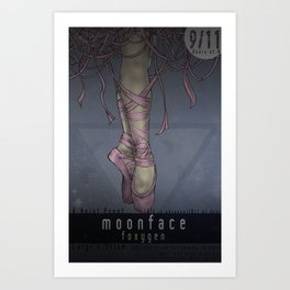 Moonface Art Print