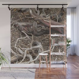 TEXTURES - Manzanita in Drought Conditions #3 Wall Mural