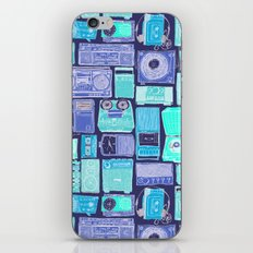 Music Boxes Pattern iPhone & iPod Skin