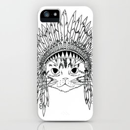 Chief Kitty  iPhone Case