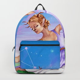 Libra OC - 12 Zodiac Ladies Backpack