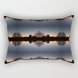 Malvern sunrise Rectangular Pillow
