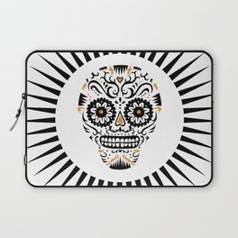 Sugar Skull SF - white Laptop Sleeve