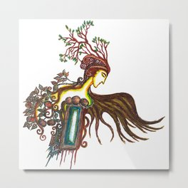 Prince of Autumn Metal Print