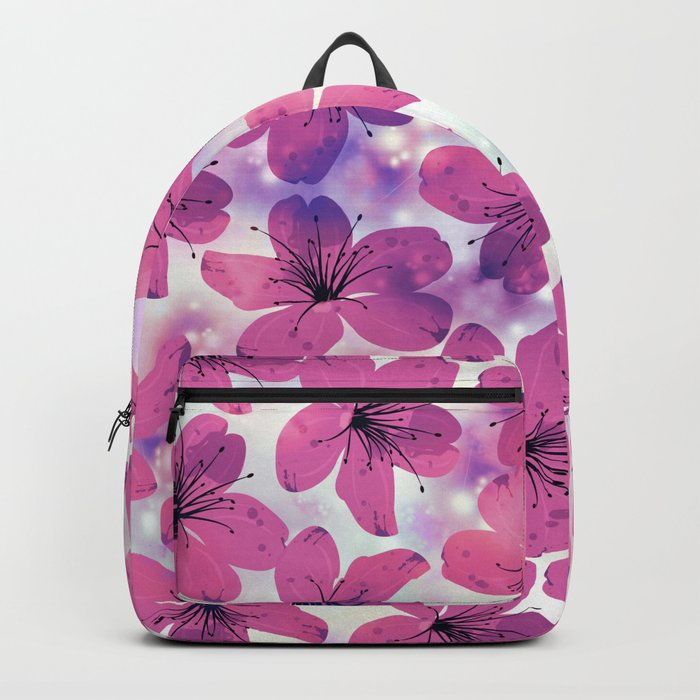 Floral Pattern B Backpack