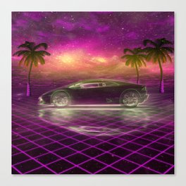 Back to the eighties Canvas Print