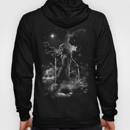 XVII. The Star Tarot Card Illustration Hoody