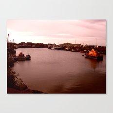 Redscape on The Celtic Sea Canvas Print