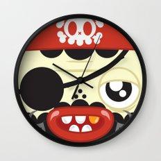 Pirate in Love Wall Clock
