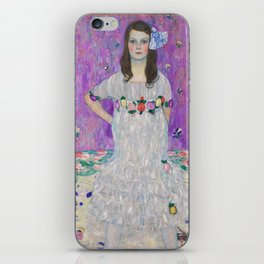Portrait of Mäda Primaves by Gustav Klimt (1912-1913) iPhone Skin
