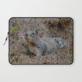 squirrel salute Laptop Sleeve
