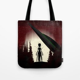 Aliens in the Forest Tote Bag