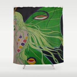 Lady Luna Shower Curtain