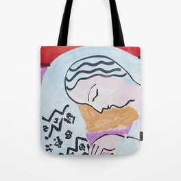 Henri Matisse - The Dream - 1940 Artwork Tote Bag