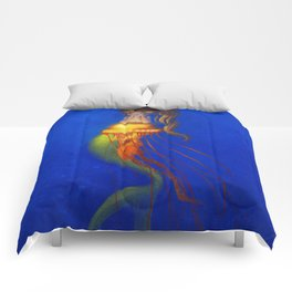 Magic deep ocean Comforters