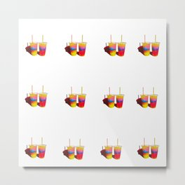 Slushed love Metal Print