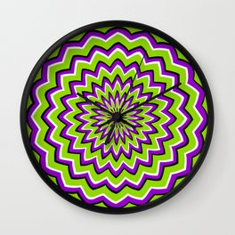 Optical Illusion moving pattern Wall Clock