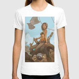 Jacquotte the monkey queen T-shirt