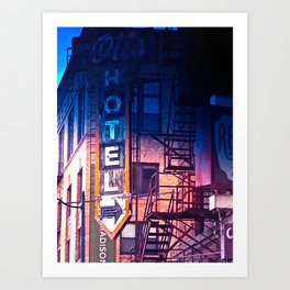 ...sold my coat when i hit spokane.... Art Print