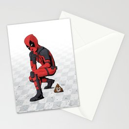 Dead Poo L Stationery Cards