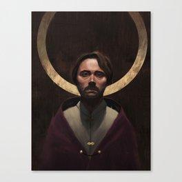 The King's Burden Canvas Print