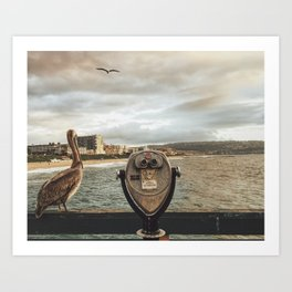 The Best View is Right Next to You Art Print