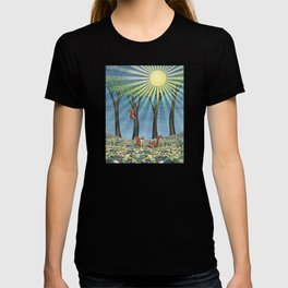 sunshine squirrels T-shirt