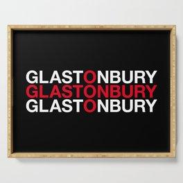 GLASTONBURY Serving Tray