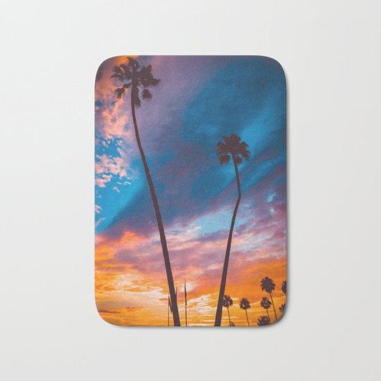 Sunset in California Bath Mat