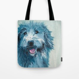 Henry - Portraits Of My Dog Friends Tote Bag