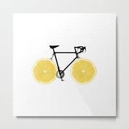 Lemonade on the Street Metal Print