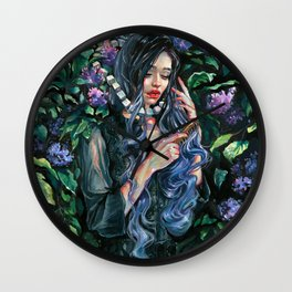 Fullmoon Memoirs Wall Clock