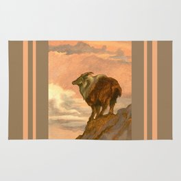 Thar (Tahr) On The Tops Rug