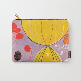 "Hilma af Klint ""The Ten Largest, No. 07, Adulthood, Group IV"" Carry-All Pouch"