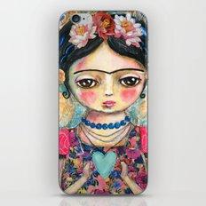The heart of Frida Kahlo  iPhone & iPod Skin