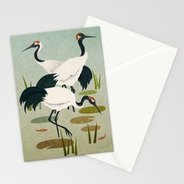 Cranes Stationery Cards