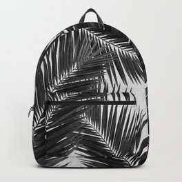 Palm Leaf Black & White III Backpack