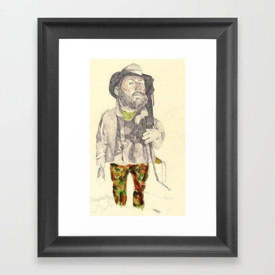 The Troll Hunter Framed Art Print