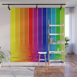 rainbow colors Wall Mural