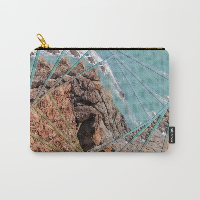 Ocean View in a Twist Carry-All Pouch