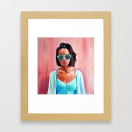 Be warm and smooth Framed Art Print